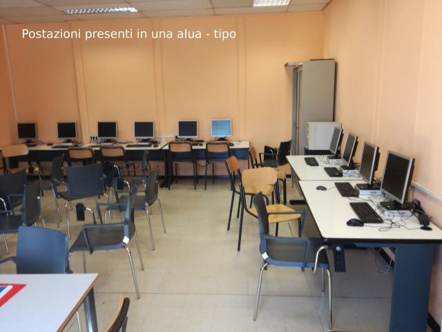 postazioni aula tipo