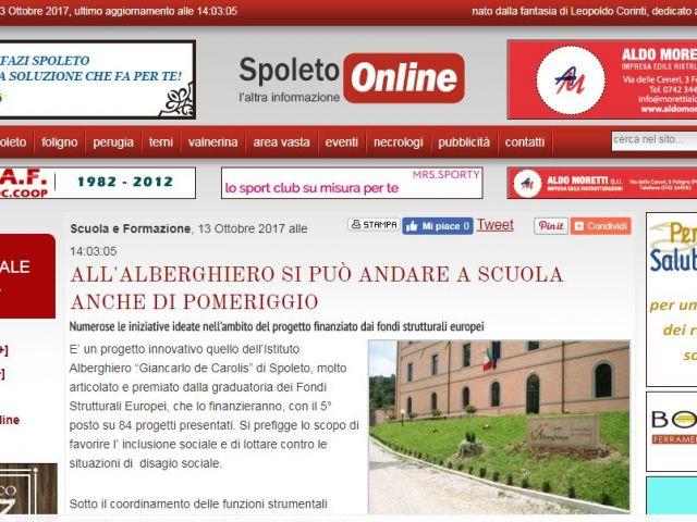 spoleto on line 13ottobre 2017
