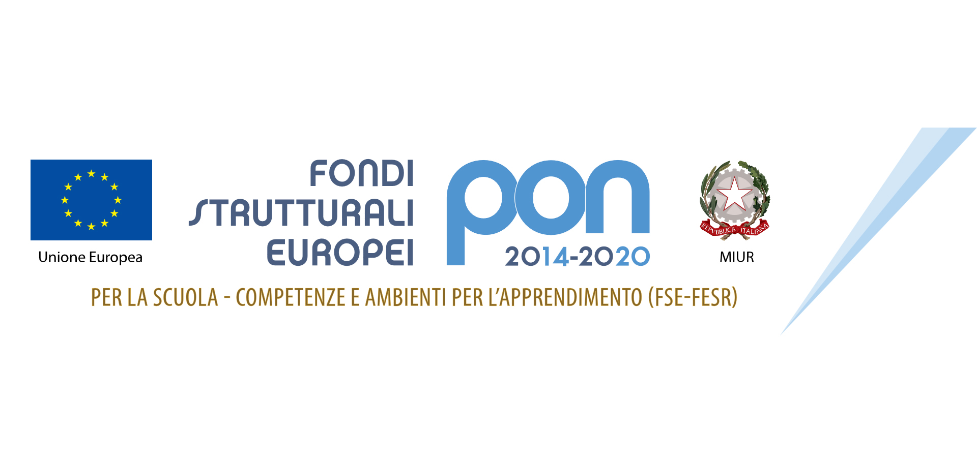 Fondi Strutturali Europei - PON 2014 - 2020